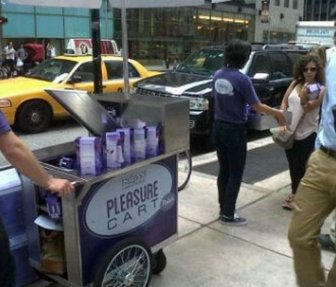 Eccentric Promotional Campaign in NY