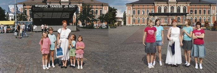 Four Sisters Have Recreated Old Photos