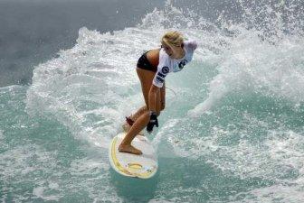 One-Armed Surfer Bethany Hamilton