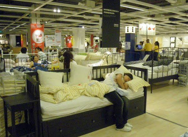 A Chinese Way to Visit IKEA