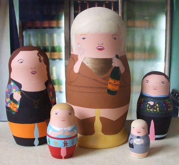 Pop-culture Nesting Dolls