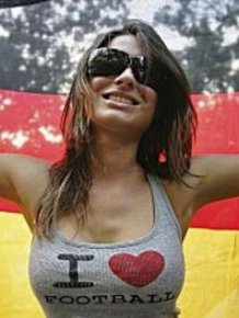 German Girls of Euro Cup
