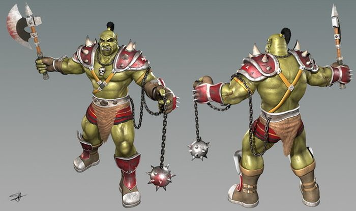 Awesome 3D Characters