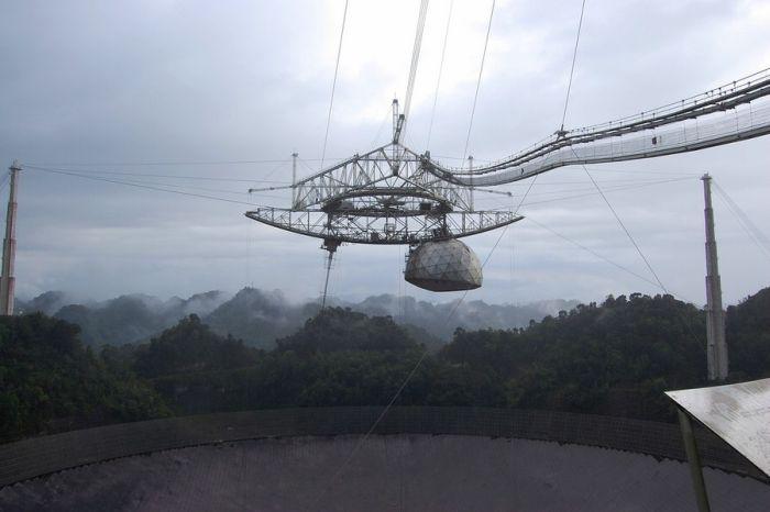 Arecibo Observatory in Puerto Rico