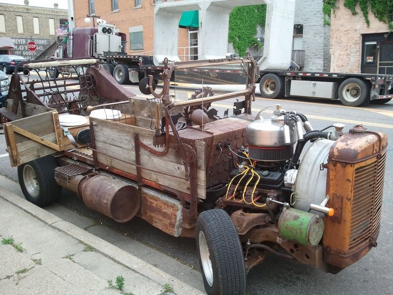 """This Vehicle Gives a New Meaning to the Term """"Rat Rod"""""""