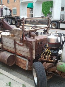 "This Vehicle Gives a New Meaning to the Term ""Rat Rod"""