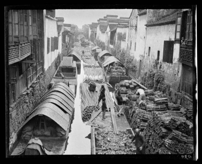 Black and White Photos of China