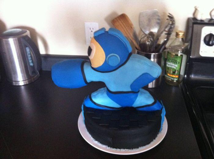 Megaman Cake