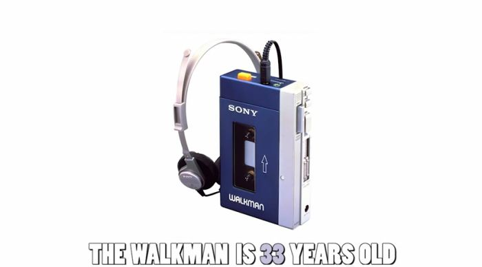 It Will Make You Feel Old
