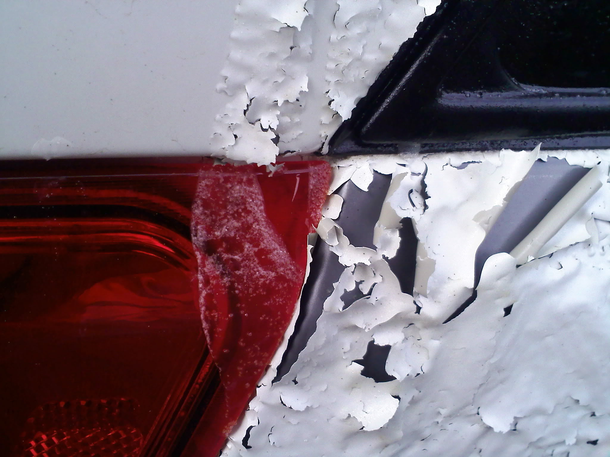 A Nasty Surprise for a Car Owner