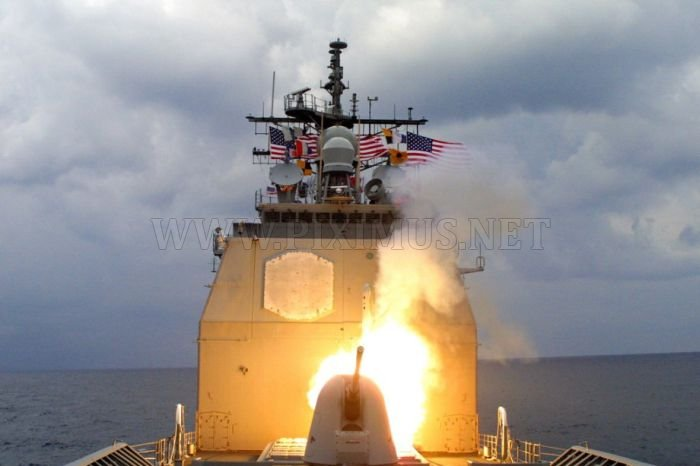 Tomahawk Missiles in Action