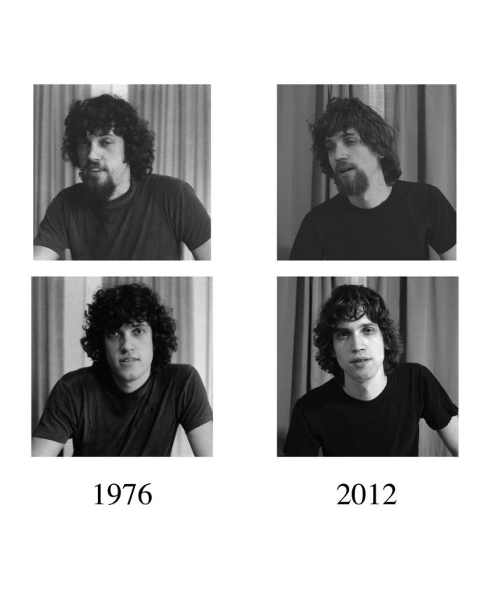 Father in 1976 and Son in 2012, part 2012