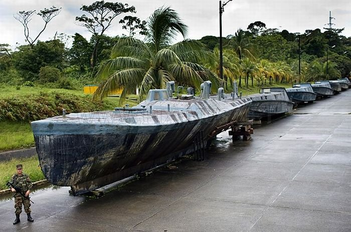 Inside Cocaine-Smuggling Submarines