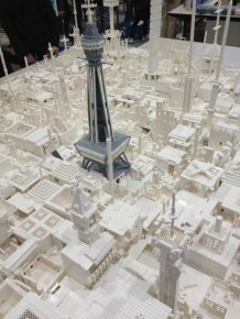 1.8 Million LEGO Bricks Used to Create Map of Japan