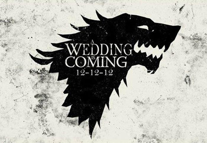 Geeky Wedding Invitations