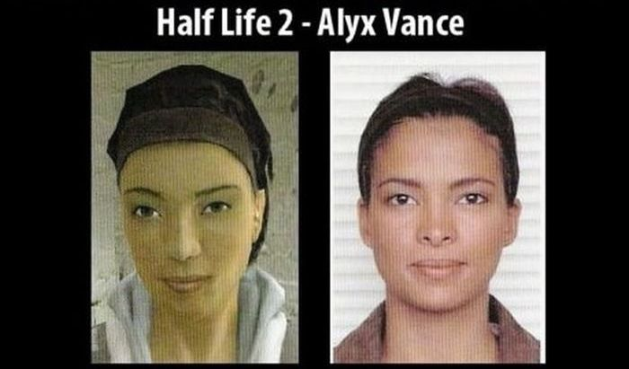 Game Characters in the Real Life