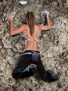 Girls and Rock Climbing