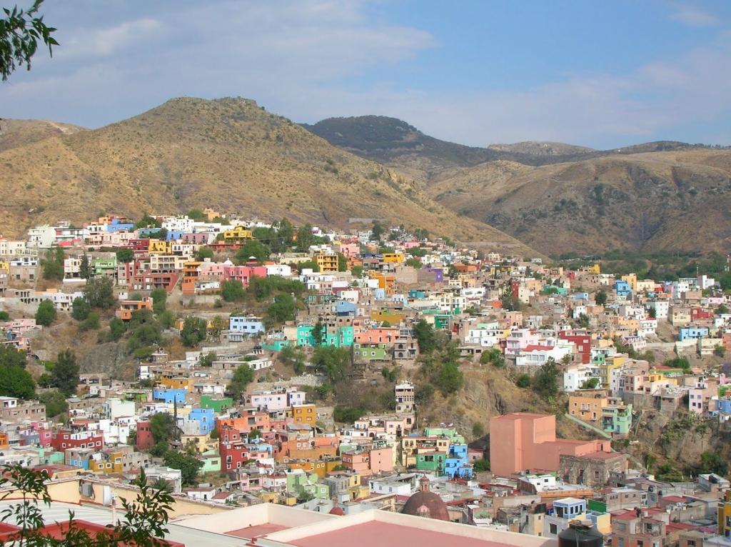 Guanajuato - multicolored city