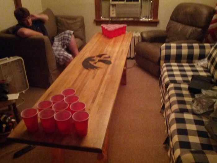 Diy Beer Pong Table Others