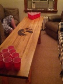 DIY: Beer Pong Table