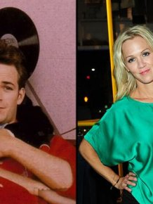 "Dylan And Kelly From ""90210"" Reunited"