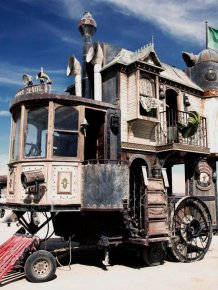 Amazing Steampunk Wheelhouse
