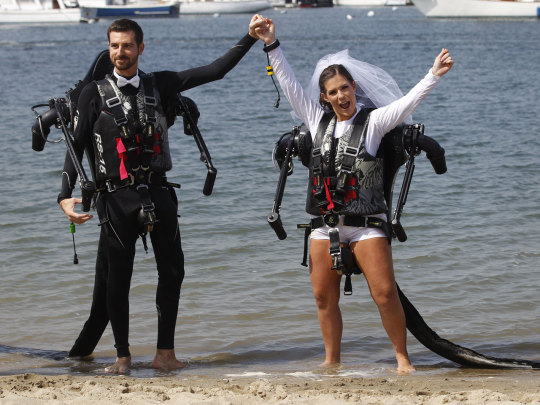 Jet Pack Wedding