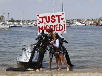 Jet Pack Wedding