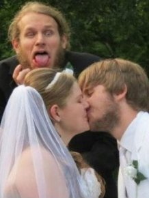 Wedding Photobombs