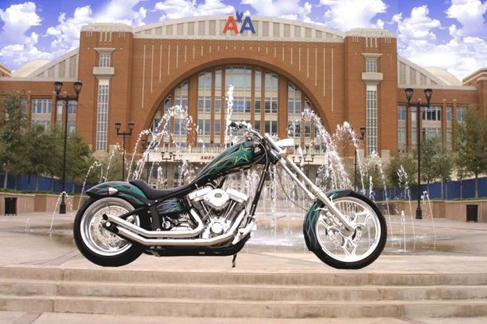 Choppers from Texas by Strokers Dallas