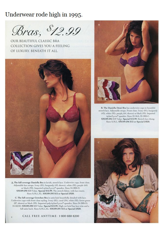 Victoria's Secret Then and Now