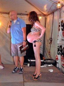 Pregnant Bikini Contest