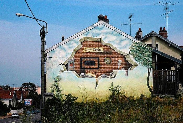 Grey Urban Transformed by Creativity