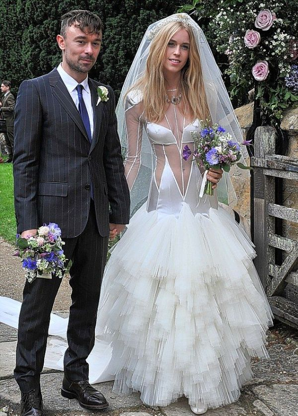 Lady Mary Charteris' Wedding Dress