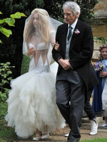 Lady Mary Charteris' Wedding Dress