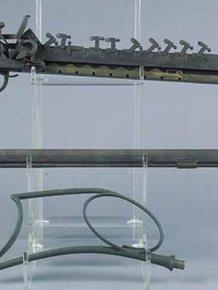 12-Shot Flintlock Jennings Repeating Rifle