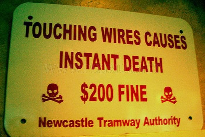 Strange and Funny Warning Signs