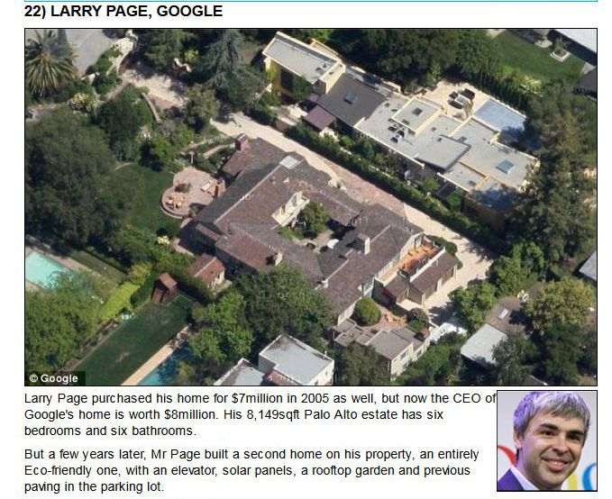 The Homes of Tech Titans