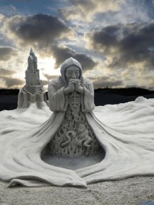 Beautiful Sand Sculptures