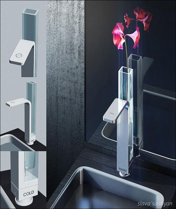 Creative and Conceptual Faucets