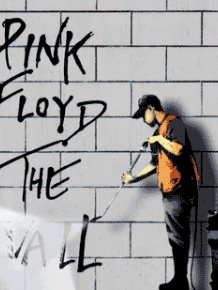 Animated Banksy Graffiti