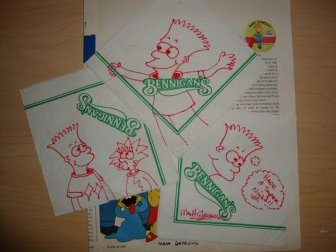 Early Bart Simpson Doodles