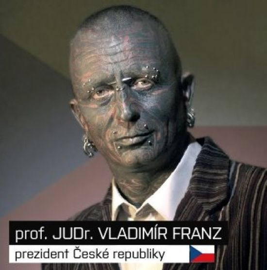 Vladimir Franz, the Most Tattooed Presidential Candidate