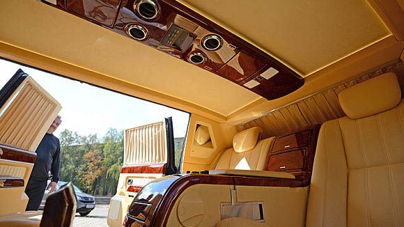 Russian president limousine