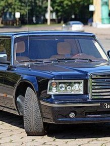 Russian president limousine