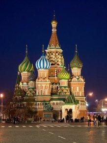 Art photos of Moscow
