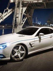 Mercedes-Benz SL tuning by Graf Weckerle