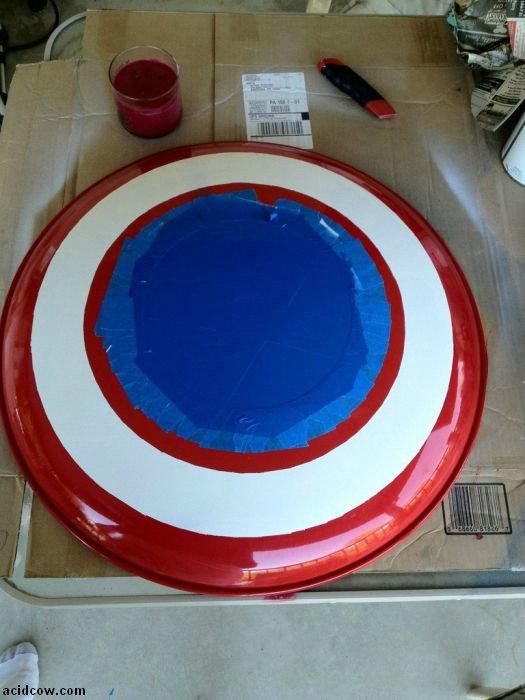 DIY Captain America's Shield