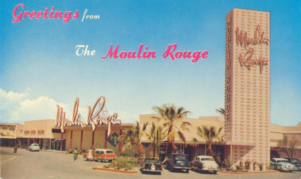 The history of Las Vegas