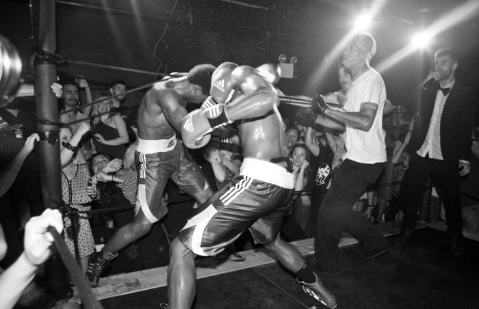 Underground Male Model Fight Club
